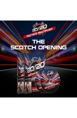 The Scotch Opening - IM Irina Bulmaga - 80/20 Tactics Multiplier