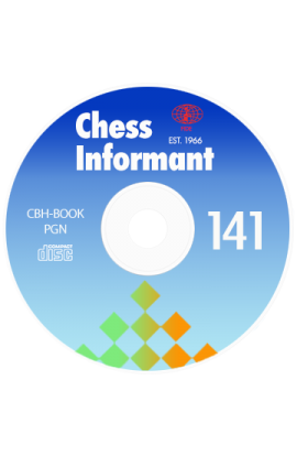 Chess Informant - Issue 141 on CD