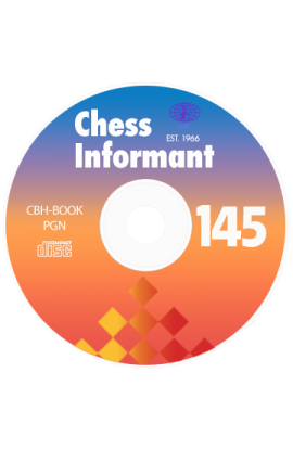 PRE-ORDER - Chess Informant - Issue 145 on CD