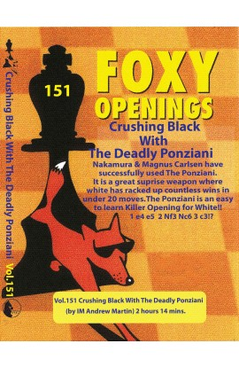 E-DVD FOXY OPENINGS - VOLUME 151 - Crushing Black With The Deadly Ponziani