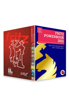 Fritz 17 Chess Playing Software Bundled with Powerbook 2021 Chess Software