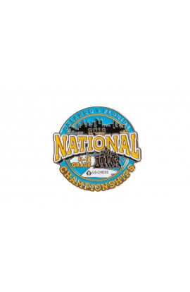2019 K-12 National Championship Commemorative Pin