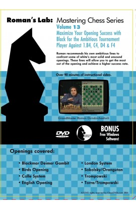 E-DVD ROMAN'S LAB - VOLUME 13 - Maximize Your Opening Success with Black for the Ambitious Tournament Player