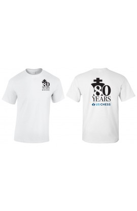 80th Anniversary USCF T-SHIRT