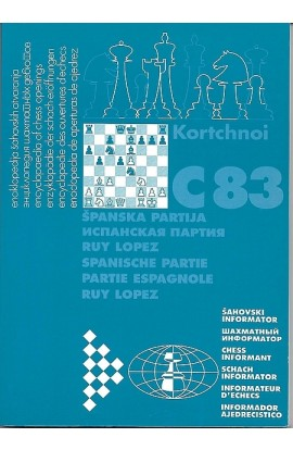 CLEARANCE - Encyclopaedia of Chess Openings - Ruy Lopez C83