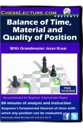 Balance of Time, Material and Quality of Position - Chess Lecture - Volume 62