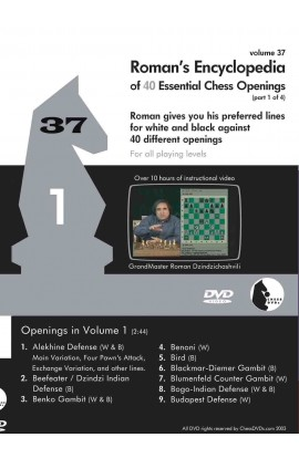 E-DVD ROMAN'S LAB - VOLUME 37 - Encyclopedia of Chess Openings - PART 1