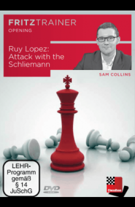 Ruy Lopez - Attack with the Schliemann - Sam Collins