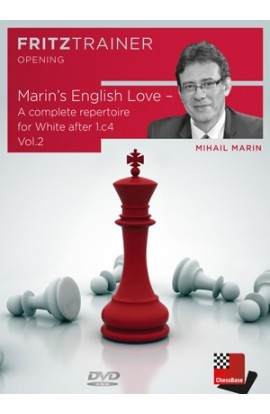 Marin's English Love - A complete repertoire for White after 1.c4 Vol.2 - Mihail Marin
