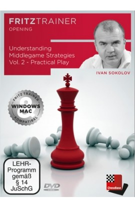 PRE-ORDER - Understanding Middlegame Strategies - Practical Play - Ivan Sokolov - Volume 2