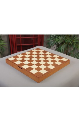 """CLEARANCE - Mahogany and Maple Wooden Tournament Casket - 2.25"""" Squares"""