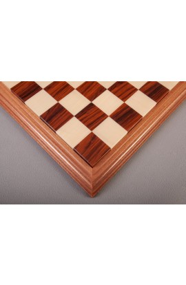 Luxe Contemporary Wood Chess Board - Bolivian Rosewood / Maple