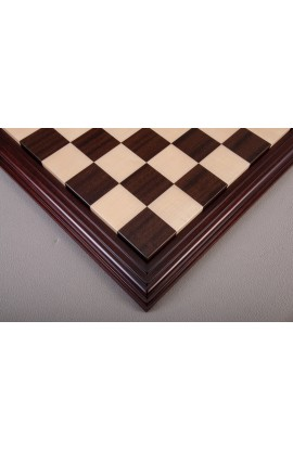 Luxe Contemporary Wood Chess Board - Indian Rosewood / Maple
