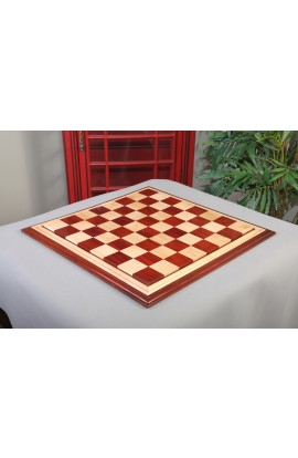 CLEARANCE - Luxe Wood Chess Board - Padauk / Maple