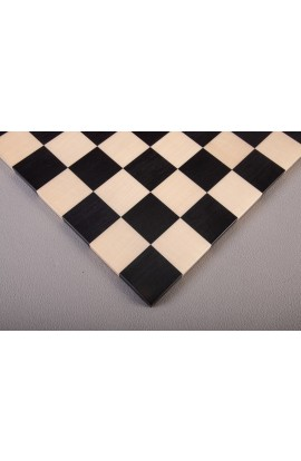 Frameless Modern Wood Chess Board - Ebony / Maple - Satin