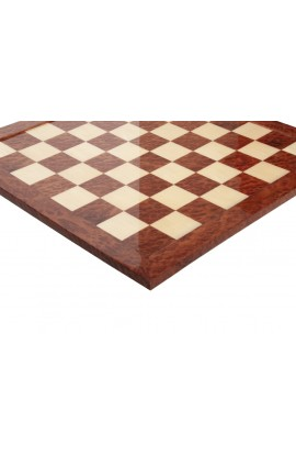 Vavona Burl & Maple Signature Traditional Chess Board - Gloss Finish