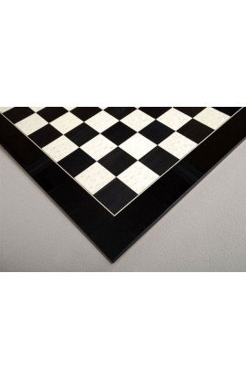 Blackwood and Bird's Eye Maple Standard Traditional Chess Board - Satin Finish