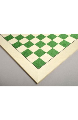Bird's Eye Maple and Greenwood Standard Traditional Chess Board - 3.0""