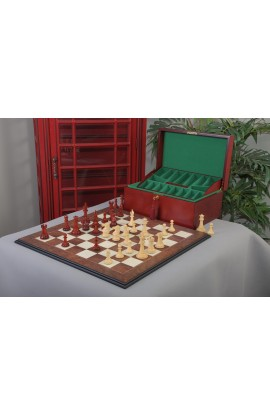 The Capablanca Chess Set, Box, & Board Combination
