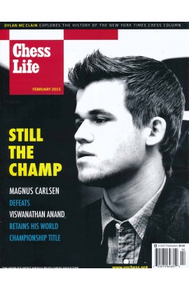 CLEARANCE - Chess Life Magazine - February 2015 Issue