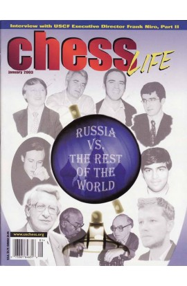 CLEARANCE - Chess Life Magazine - January 2003 Issue