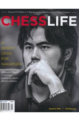 CLEARANCE - Chess Life Magazine - January 2016 Issue