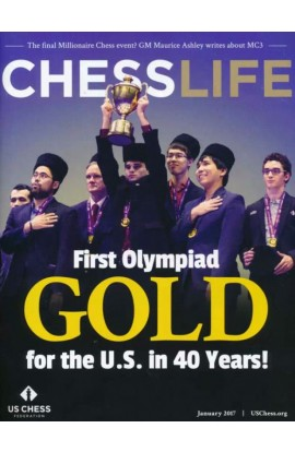 CLEARANCE - Chess Life Magazine - January 2017 Issue