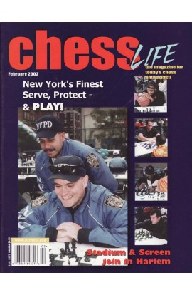 CLEARANCE - Chess Life Magazine - February 2002 Issue