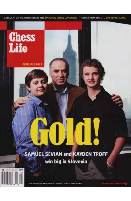 CLEARANCE - Chess Life Magazine - February 2013 Issue