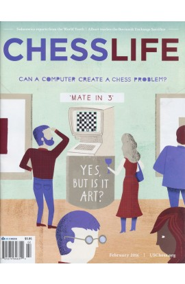 CLEARANCE - Chess Life Magazine - February 2016 Issue