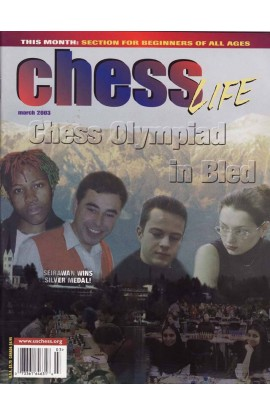 CLEARANCE - Chess Life Magazine - March 2003 Issue