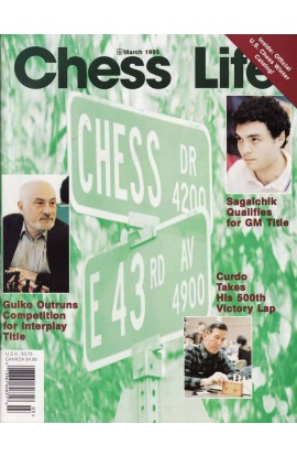CLEARANCE - Chess Life Magazine - March 1995 Issue