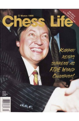 CLEARANCE - Chess Life Magazine - March 1998 Issue
