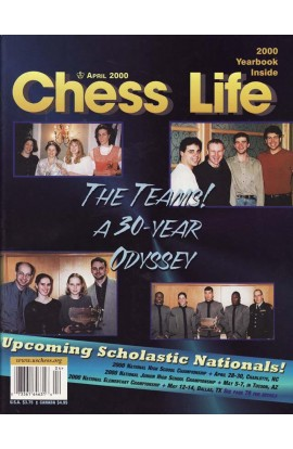 CLEARANCE - Chess Life Magazine - April 2000 Issue
