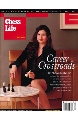 CLEARANCE - Chess Life Magazine - April 2015 Issue