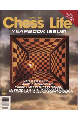 CLEARANCE - Chess Life Magazine - April 1996 Issue