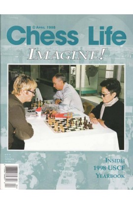 CLEARANCE - Chess Life Magazine - April 1998 Issue