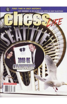 CLEARANCE - Chess Life Magazine - May 2003 Issue