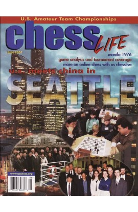 CLEARANCE - Chess Life Magazine - June 2001 Issue
