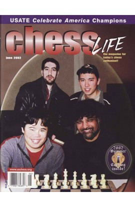 CLEARANCE - Chess Life Magazine - June 2002 Issue