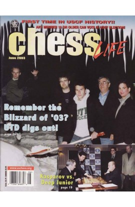 CLEARANCE - Chess Life Magazine - June 2003 Issue