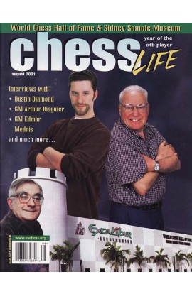 CLEARANCE - Chess Life Magazine - August 2001 Issue