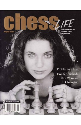 CLEARANCE - Chess Life Magazine - August 2002 Issue