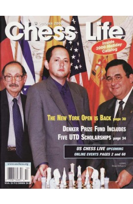 CLEARANCE - Chess Life Magazine - October 2000 Issue