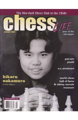 CLEARANCE - Chess Life Magazine - October 2001 Issue