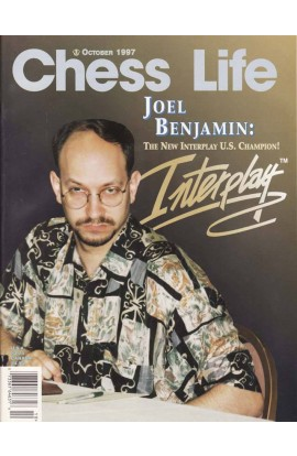 CLEARANCE - Chess Life Magazine - October 1997 Issue
