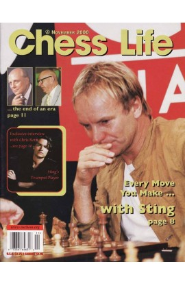 CLEARANCE - Chess Life Magazine - November 2000 Issue