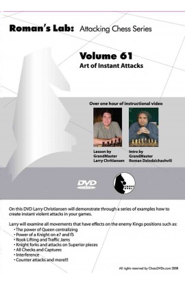 E-DVD ROMAN'S LAB - VOLUME 61 - Art of Instant Attacks