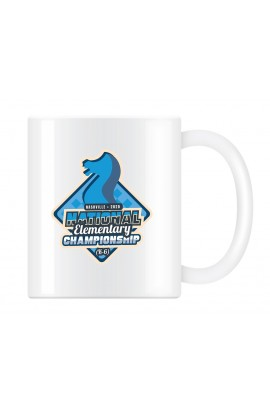 2020 National Elementary Chess Championship Commemorative Coffee Cup