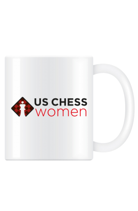 US Chess Women Coffee Mug